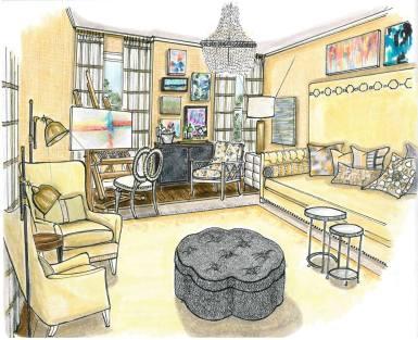 Traditional Home Magazine Designer Showhouse - Leslie Moore Designs