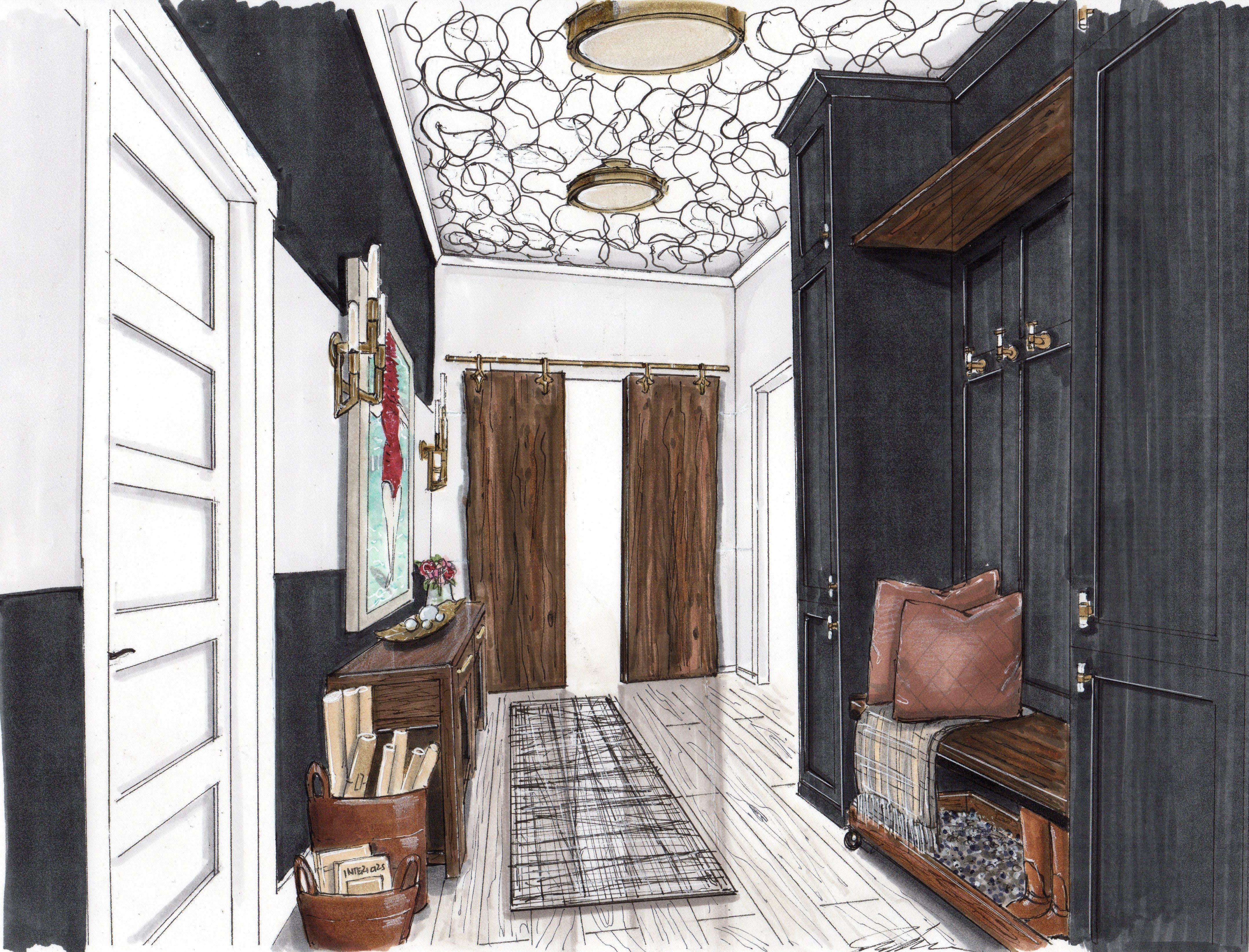 Interiors by Maloku Mudroom